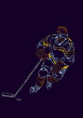 Forward in hockey