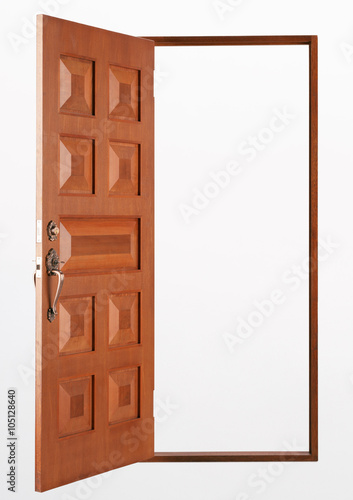 wooden door designs pictures quot entrance wooden door on a white background quot imagens e 1616