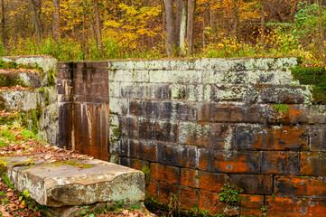 Old canal lock