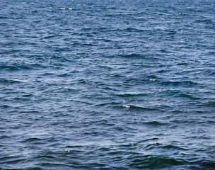 Texture of dark sea in storm weather