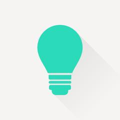 electric bulb vector icon