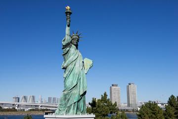 お台場海浜公園の自由の女神