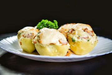 stuffed potato dish