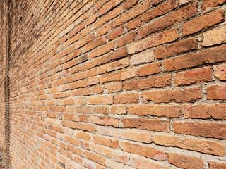 closeup brick wall texture