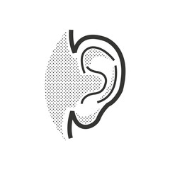 Medical Doctors Otolaryngology ear icon