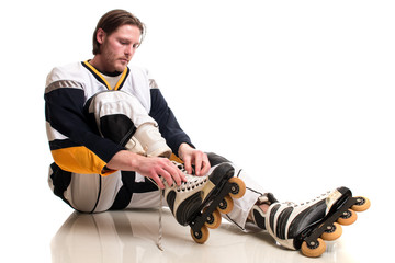 Roller Hockey Player