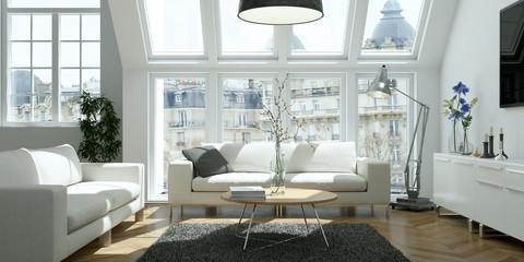 helle moderne Altbau Wohnung