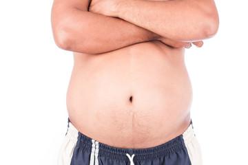 body man fat belly
