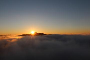 鎌倉山の雲海 / 栃木県にある鎌倉山の雲海を写真に収めました。