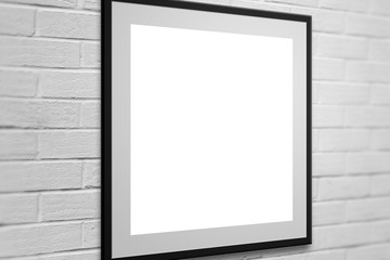 Gallery Frame on Wall  Background