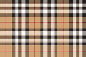 Pride of scotland gold tartan fabric texture seamless pattern