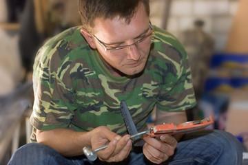 Repair in workshop