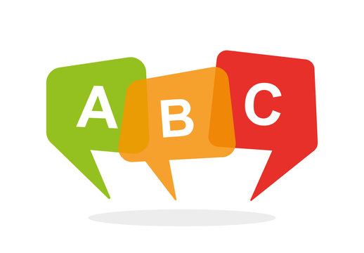 English school logo ABC