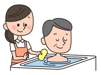 入浴 介護 シニア