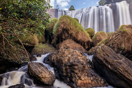 Waterfall of the Elephant, Dalat, Vietnam.
