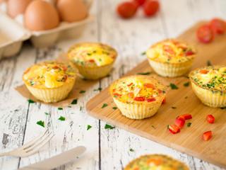 Gesunde Eier-Muffins
