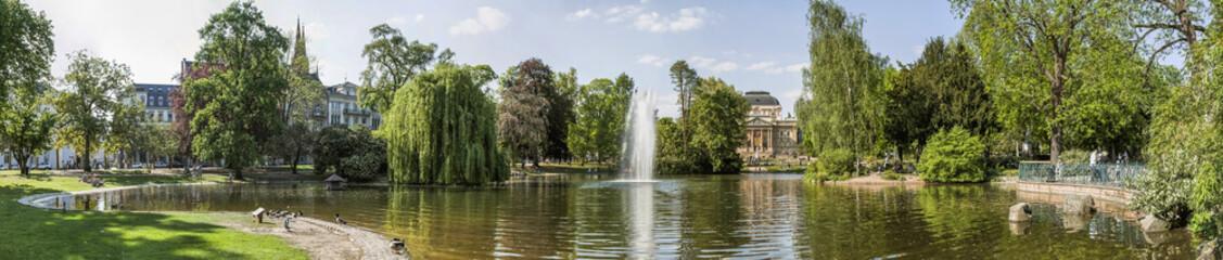 Park Wiesbaden Panorama