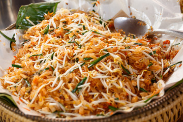 Pad thai is another food that is popular in Thailand.