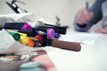 Creatività, colori