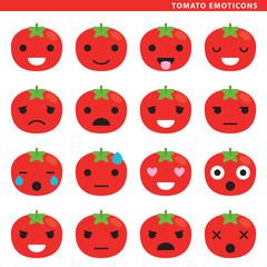 Tomato emoticons