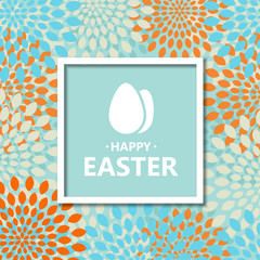 Vector modern Happy Easter  background