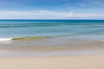 Calm sea on the beach