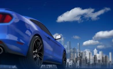 Concept Car and the Skyline