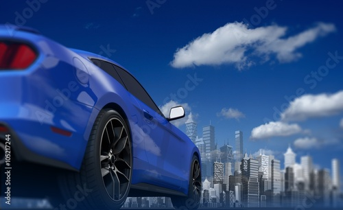 concepts car and skyline - photo #21