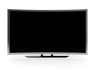 curved ultra hd tv blank screen