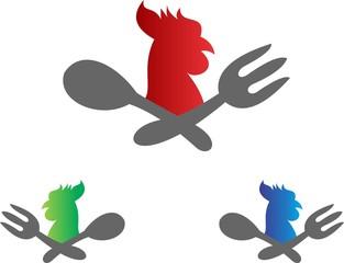 chicken restaurant logo