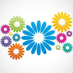 fond abstrait fleur