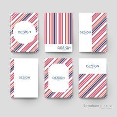 abstract vector brochure template. Flyer Layout