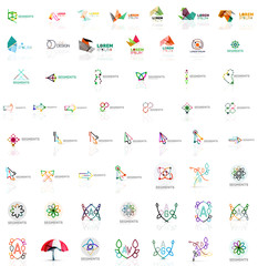 Mega collection of various abstract universal logos