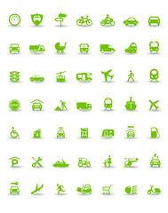 Verkehr Symbole