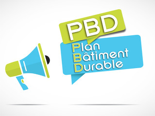 mégaphone : PBD