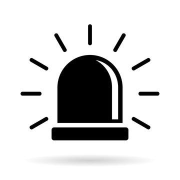 Alarm siren icon