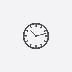 watch icon on white background