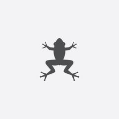 frog icon on white background