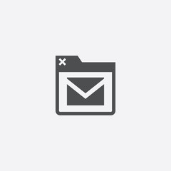 browser email icon