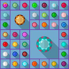 Vector gems round
