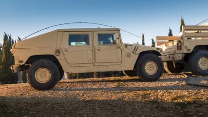 Vehicle designed for war (Humvee)