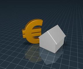 haus und eurosymbol