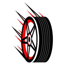 Wall Mural - Autorennen, Autowerkstatt - Logo