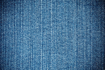 Perspective View Blue Denim Texture close up vertical Direction Threads