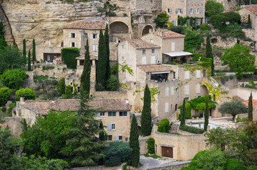 Fototapete - Village of Gordes in the Provence