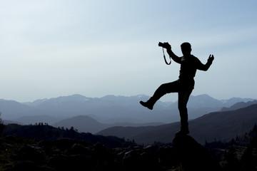 dağlarda çılgın fotoğrafçı