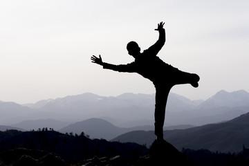 zirve başarısı ve mutluluğu