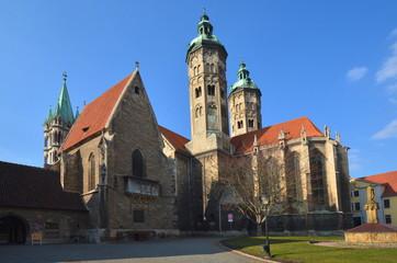 Domsilhouette von Naumburg