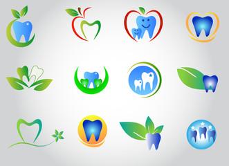 Set dental logo