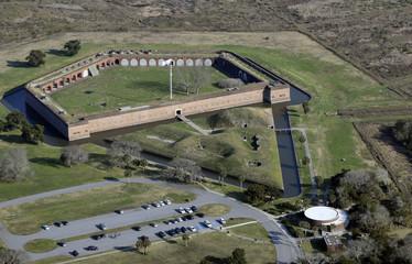 Fort Pulaski Aerial View